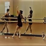 ballet at barre