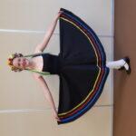 Lauren Jeffery in character skirt